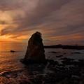 立石海岸夕景 (2)