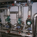 写真: 500kw heating system