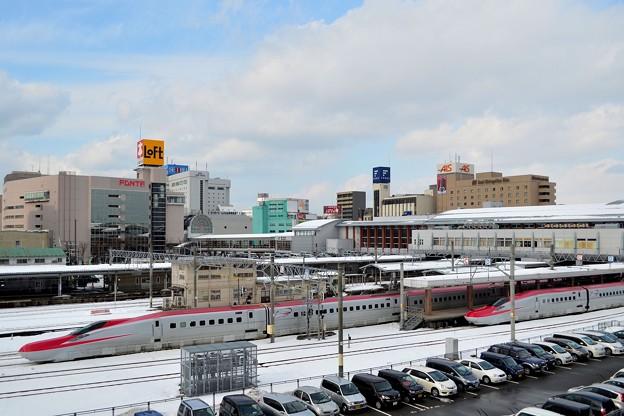 秋田駅全景