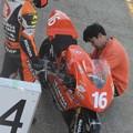 写真: 205 16 亀井 雄大 18 GARAGE RACING TEAM NSF250R 2012