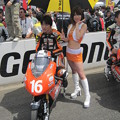 写真: 212  16 亀井 雄大 18 GARAGE RACING TEAM NSF250R 2012