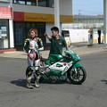 写真: 410 22 高杉 奈緒子 モトバムwithヒポポタマス NSF250R