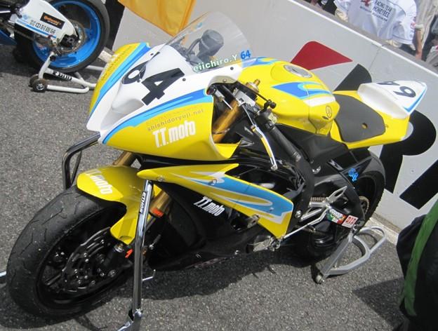 写真: 495 2012 64 矢田 栄一朗 T.T.MOTO YZF-R6