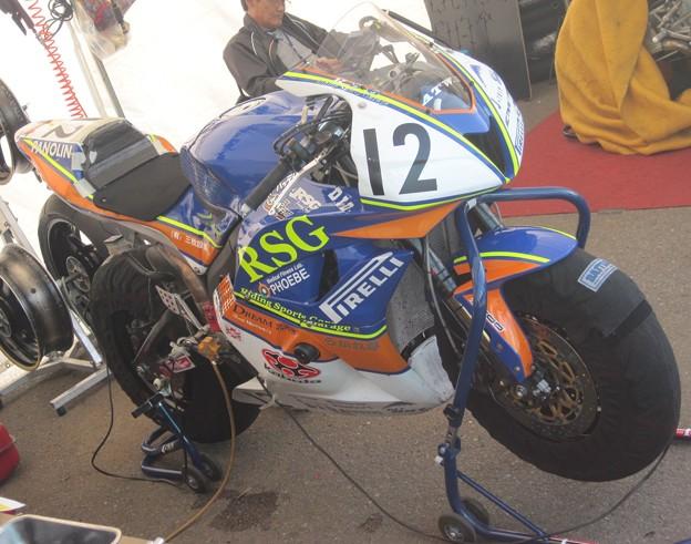 写真: 507 2012 12 岡村 光矩 RSGレーシング&ドリーム北九州 CBR600RR