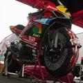 写真: 03_2005_atushi_watanabe_yoshimura_suzuki_jomo_with_srixon_racing_team