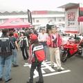 写真: 13_2005_atushi_watanabe_yoshimura_suzuki_jomo_with_srixon_racing_team