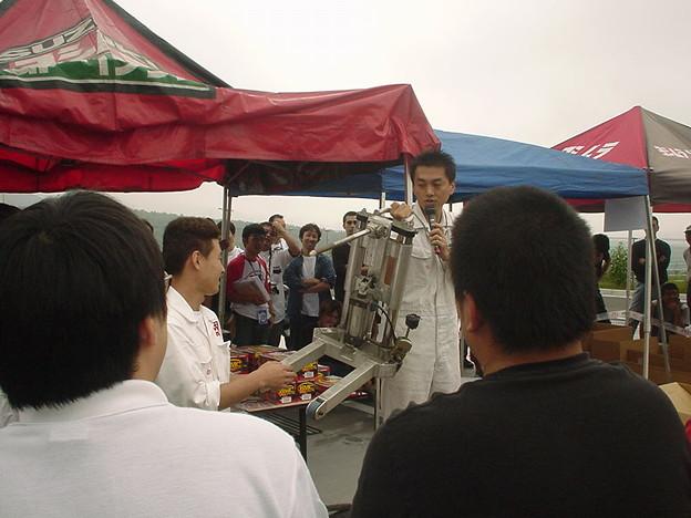 写真: 17_2005_atushi_watanabe_yoshimura_suzuki_jomo_with_srixon_racing_team