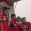 写真: 34_2005_atushi_watanabe_yoshimura_suzuki_jomo_with_srixon_racing_team