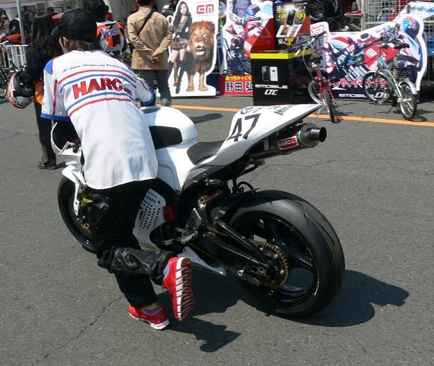 写真: 591 2012 47 鈴木 力 CLUB HARC-PRO. CBR600RR