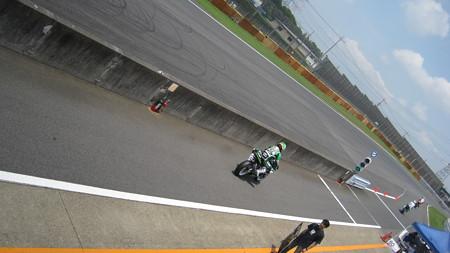 12 2013 J_GP2 51 高橋 英倫 PITCREW&松戸FLASH MZX-6R rd4   Tsukuba