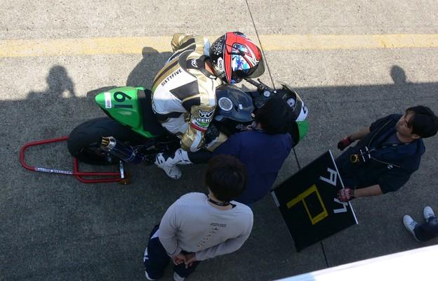 写真: 632 2012 61 鈴木 貴雄 Racing Discover ZX-6R P1200564