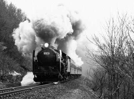 蒸気機関車C62 稲穂峠を駆ける