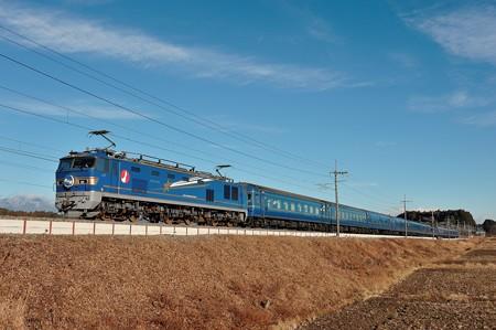 EF510-514牽引寝台特急北斗星