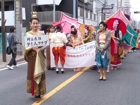 パレードが始まります。