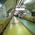 飯田橋の長い通路