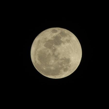 きのうは満月