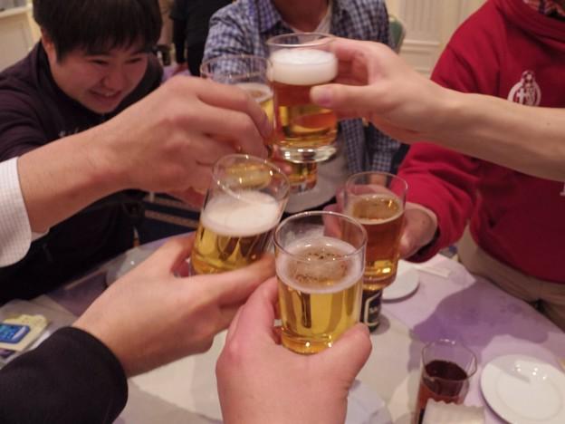 やっぱり乾杯