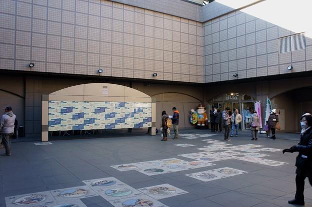 寅さん記念館の中央広場