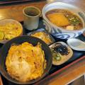Photos: きつねそばとミニカツ丼