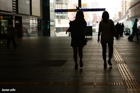 小倉駅的日常