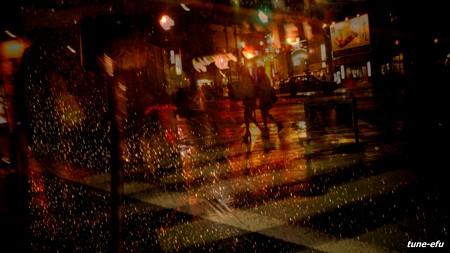 雨の思案橋