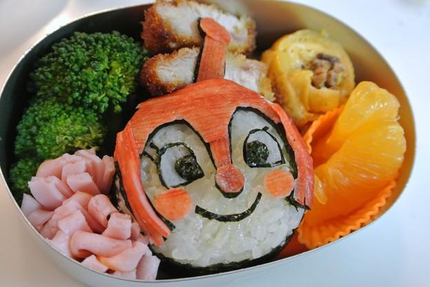 写真: ドキンちゃんおにぎり弁当