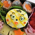 写真: メロンパンナちゃん弁当