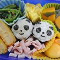 写真: 11月14日(木)パンダちゃんおにぎり弁当