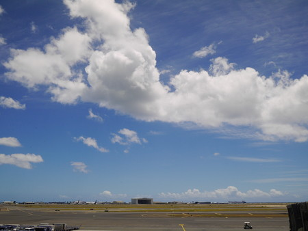 ホノルル空港の空