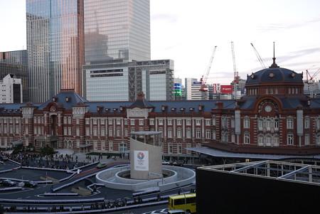 テラスからの東京駅(1)