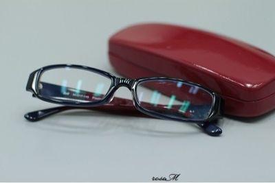 メガネの撮影