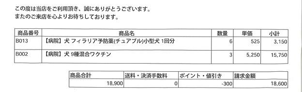 ネットで申し込んだ場合の価格(病院その3)