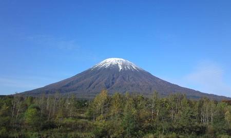 秋の羊蹄山♪