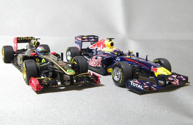 レッドブルとロータスの2011年モデル
