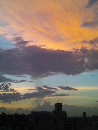 20120717夕焼け