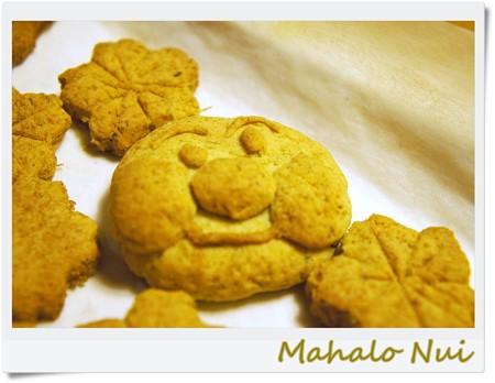 ぶさいくアンパンマンのクッキー発見