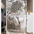 写真: 氷の彫刻2
