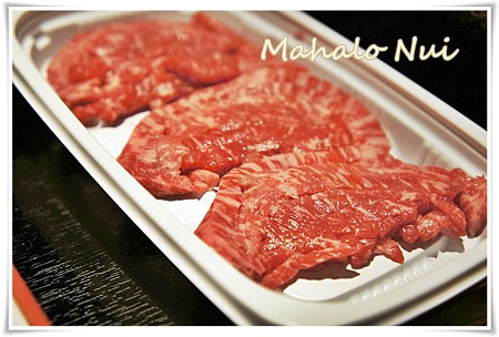 ユッケのお肉