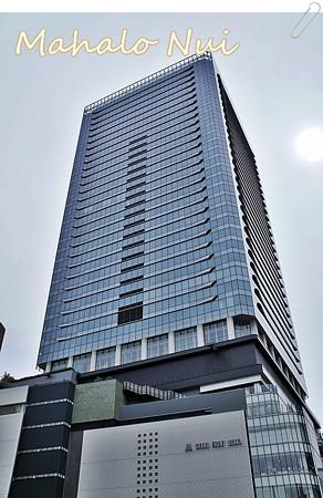 そびえ立つグランフロント大阪