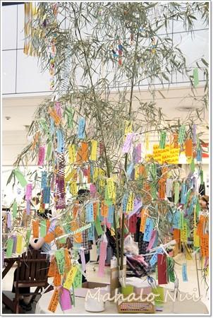 皆の願いを運ぶ大きな笹の木