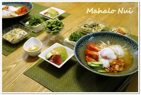 韓国風冷麺で涼ご飯