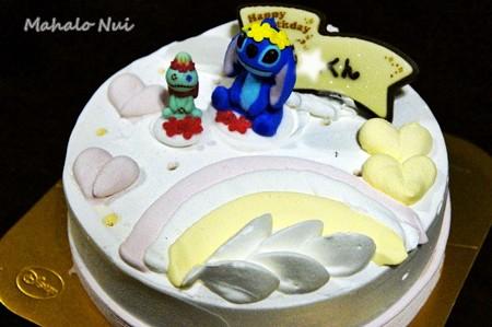 お誕生日のアイスケーキ