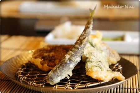 三皿目の天ぷら