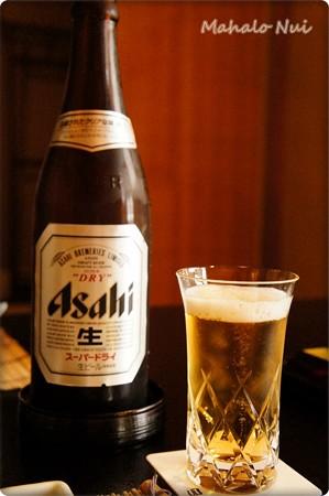 お昼にビール