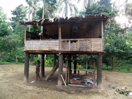 高床式の家