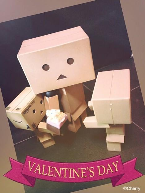 バレンタインの時期では…ないですね(笑)