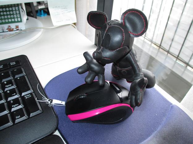 20130715 無線仕様のマウス