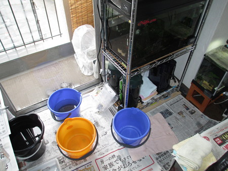 20140301 掃除中の風景