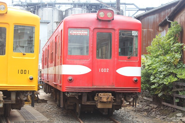 銚子電気鉄道デハ1002