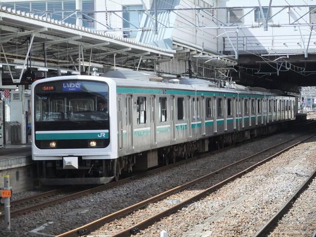常磐線E501系 K-752編成